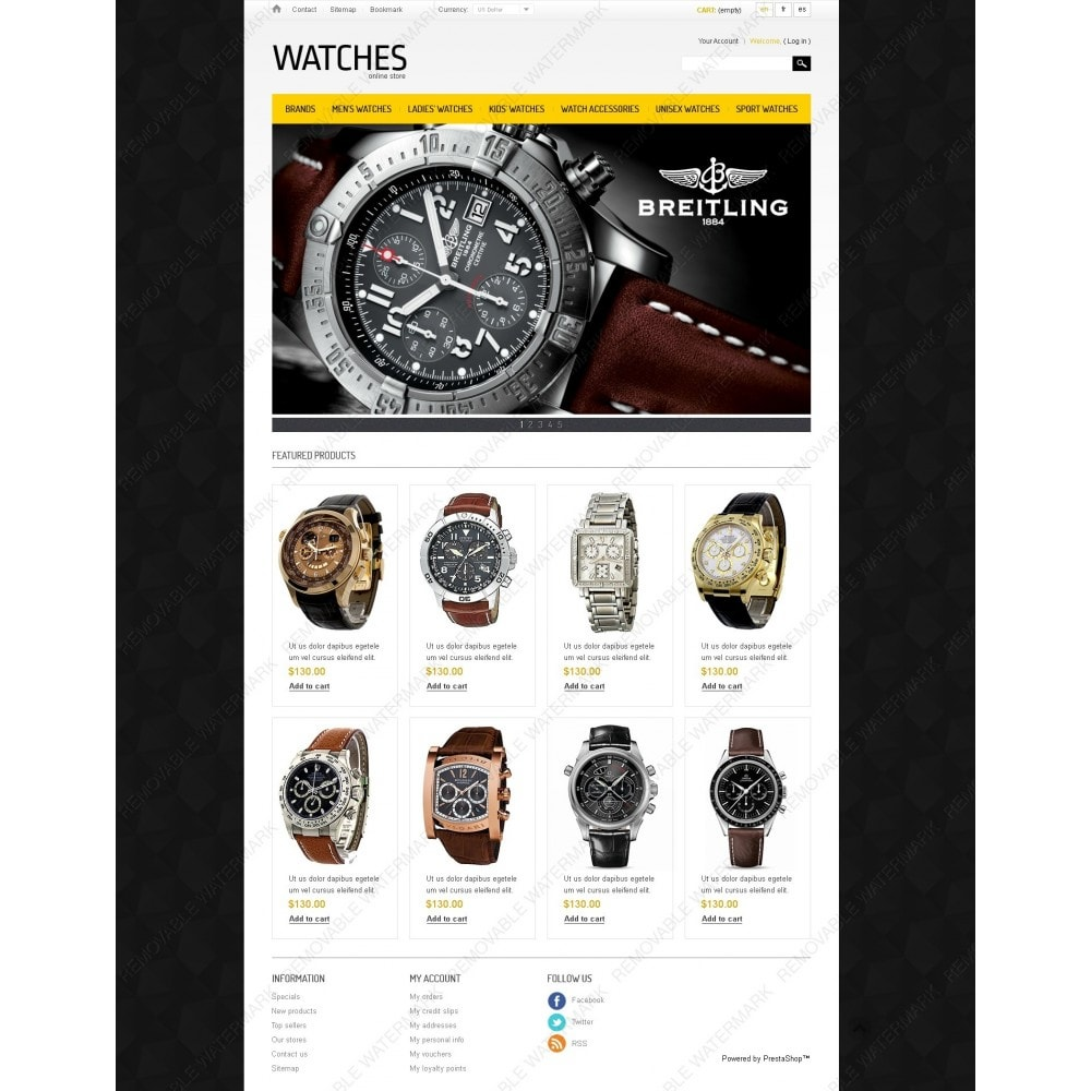 theme - Mode & Schuhe - Watches Store - 7