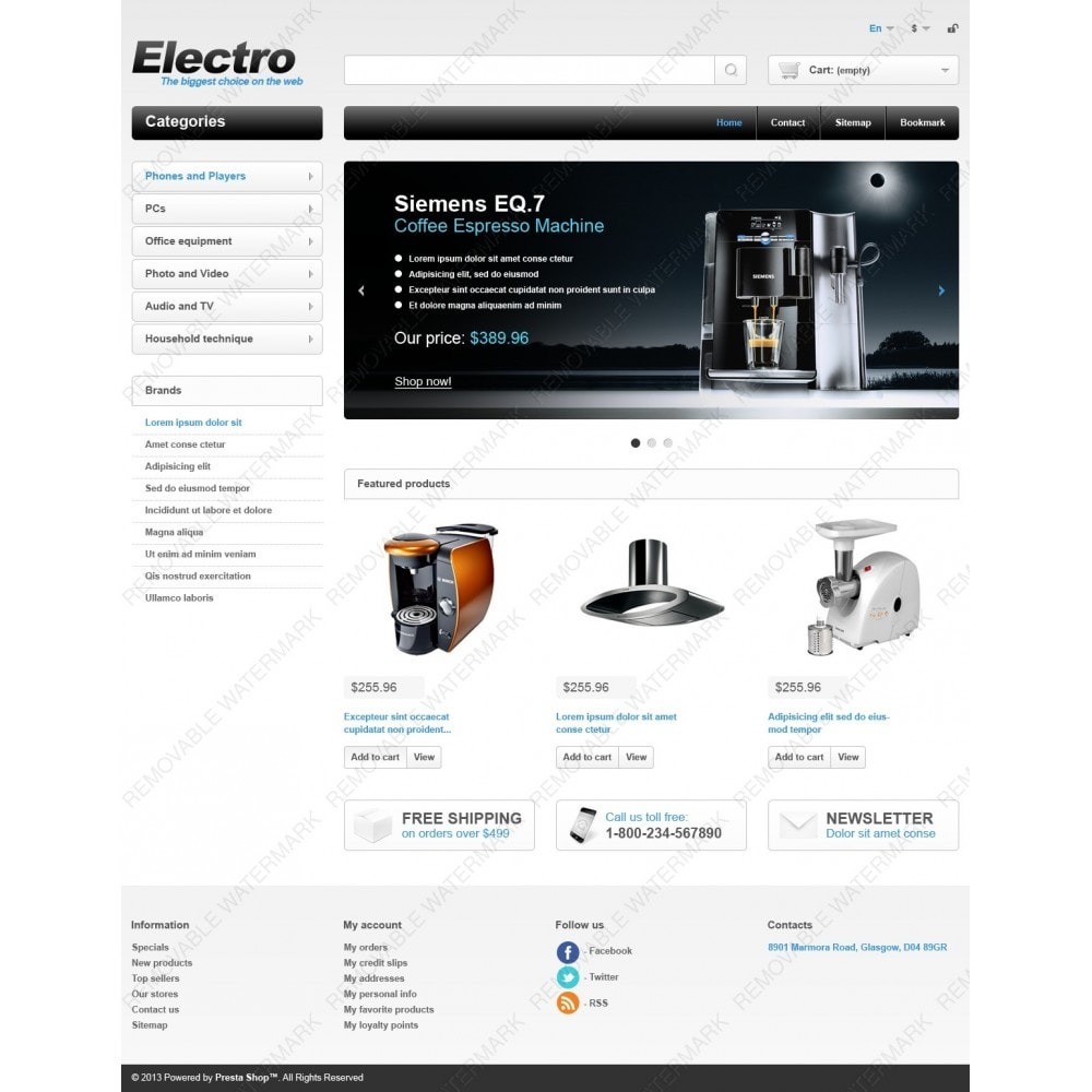 theme - Electronics & Computers - Electrical Appliances - 4