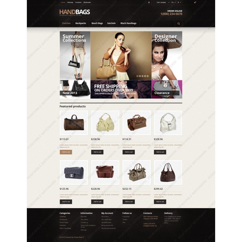 theme - Fashion & Shoes - Responsive Handbags Store - 3