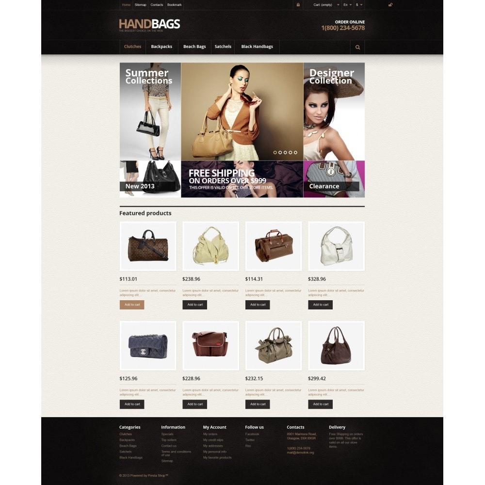 theme - Fashion & Shoes - Responsive Handbags Store - 4
