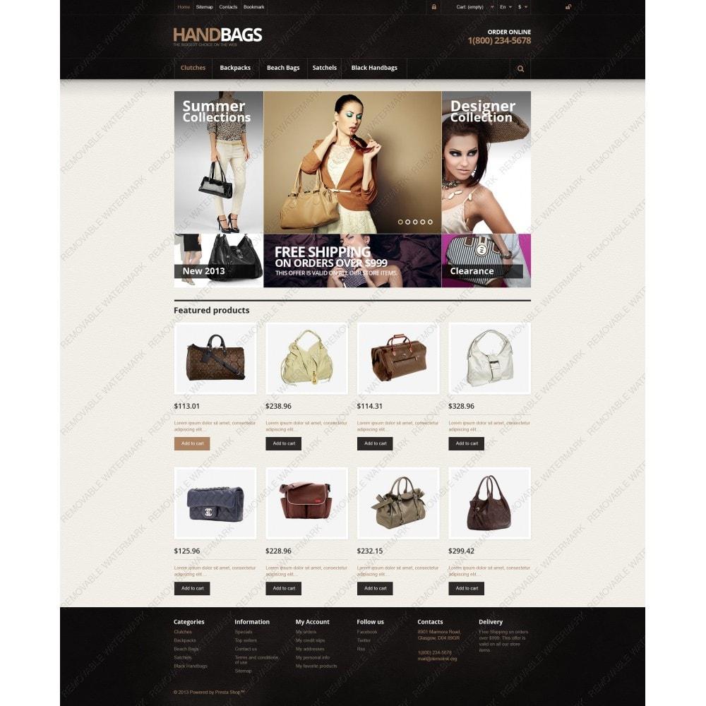 theme - Fashion & Shoes - Responsive Handbags Store - 5