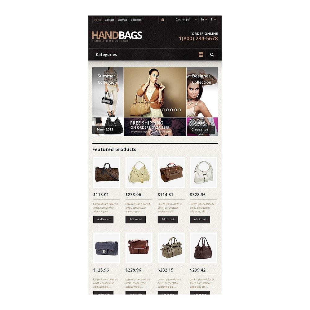 theme - Fashion & Shoes - Responsive Handbags Store - 7