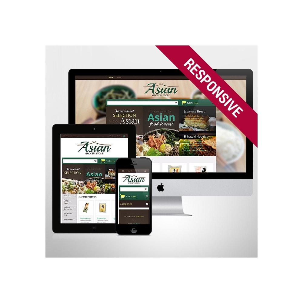 theme - Продовольствие и рестораны - Asian Grocery Store - 1