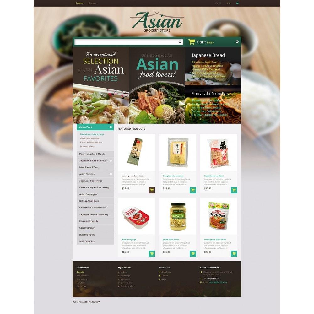 theme - Продовольствие и рестораны - Asian Grocery Store - 2