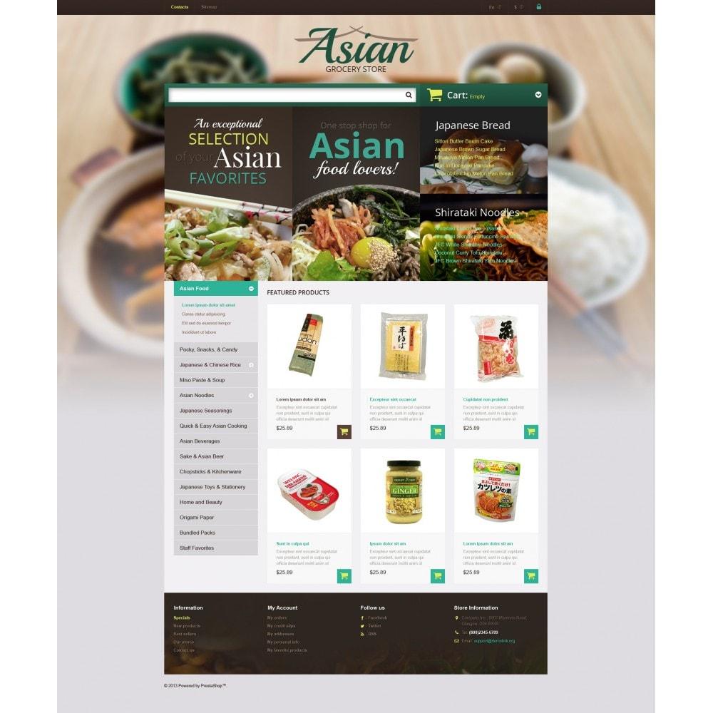 theme - Продовольствие и рестораны - Asian Grocery Store - 4