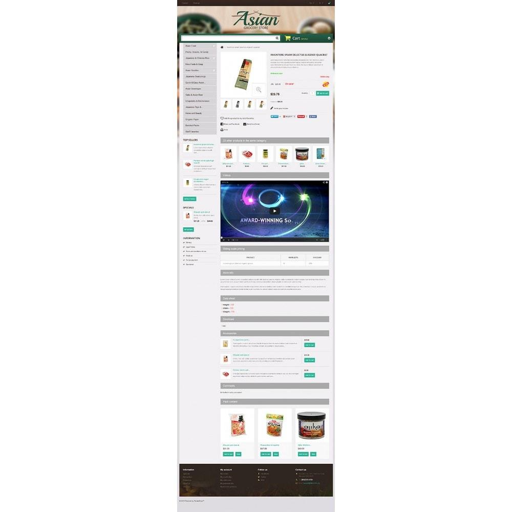 theme - Продовольствие и рестораны - Asian Grocery Store - 6