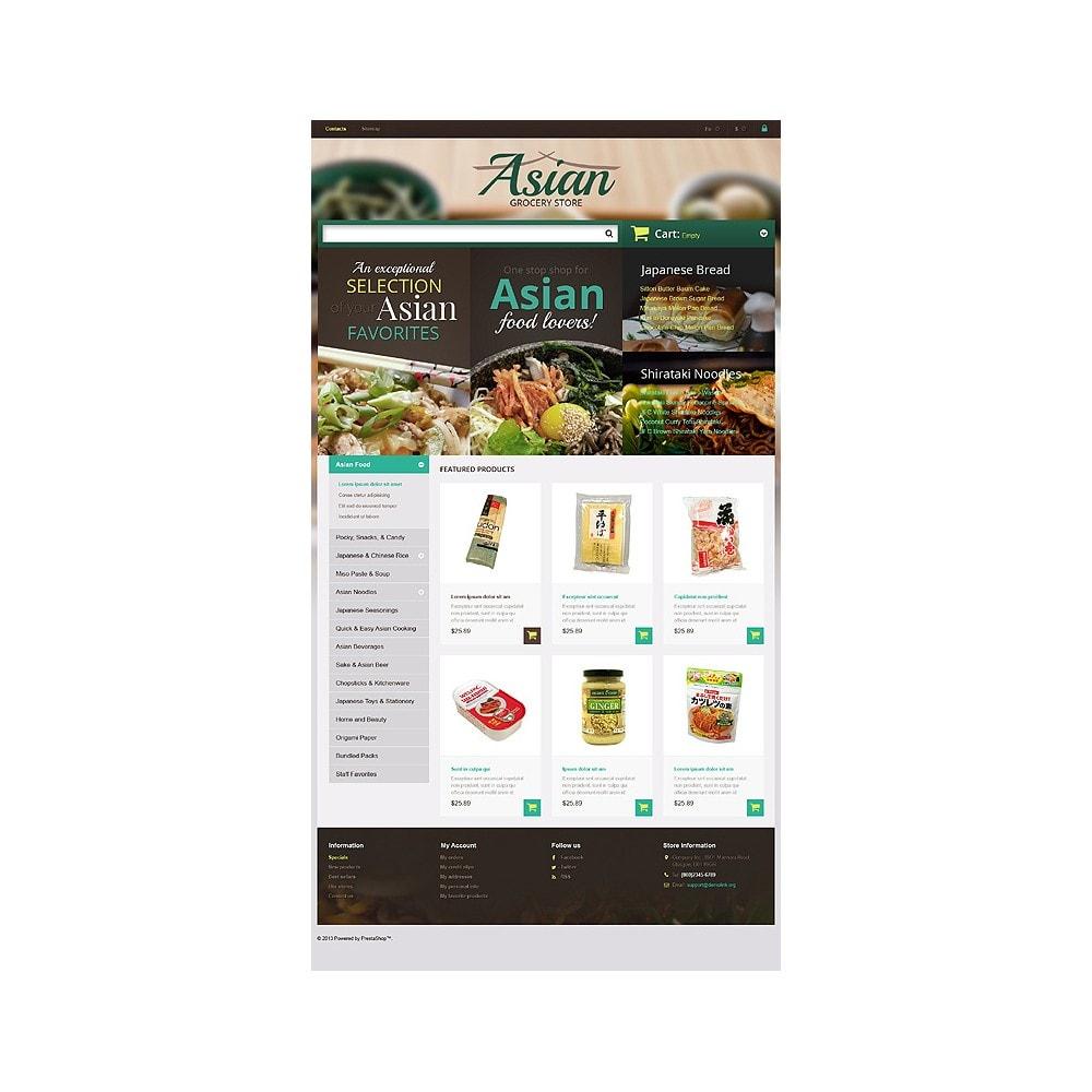 theme - Продовольствие и рестораны - Asian Grocery Store - 10