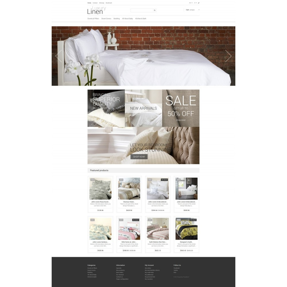 theme - Искусство и Культура - Luxury Linen Store - 4