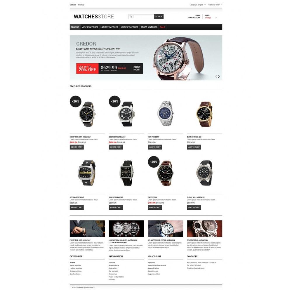 theme - Мода и обувь - Watches Shop - 2