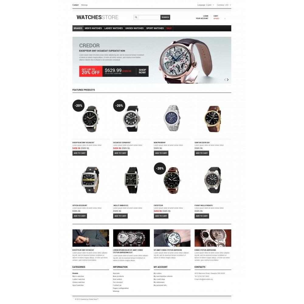 theme - Мода и обувь - Watches Shop - 5