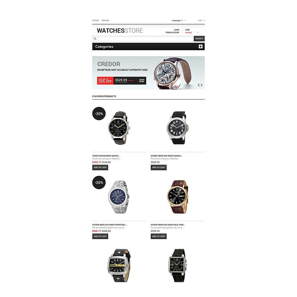 theme - Мода и обувь - Watches Shop - 7