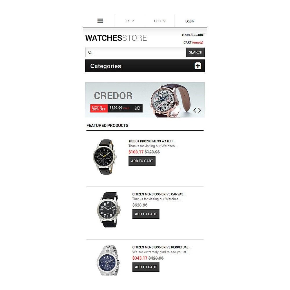 theme - Мода и обувь - Watches Shop - 8