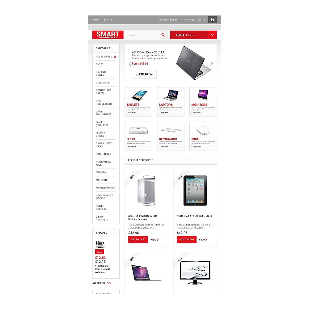 theme - Electrónica e High Tech - Smart Computers Store - 7