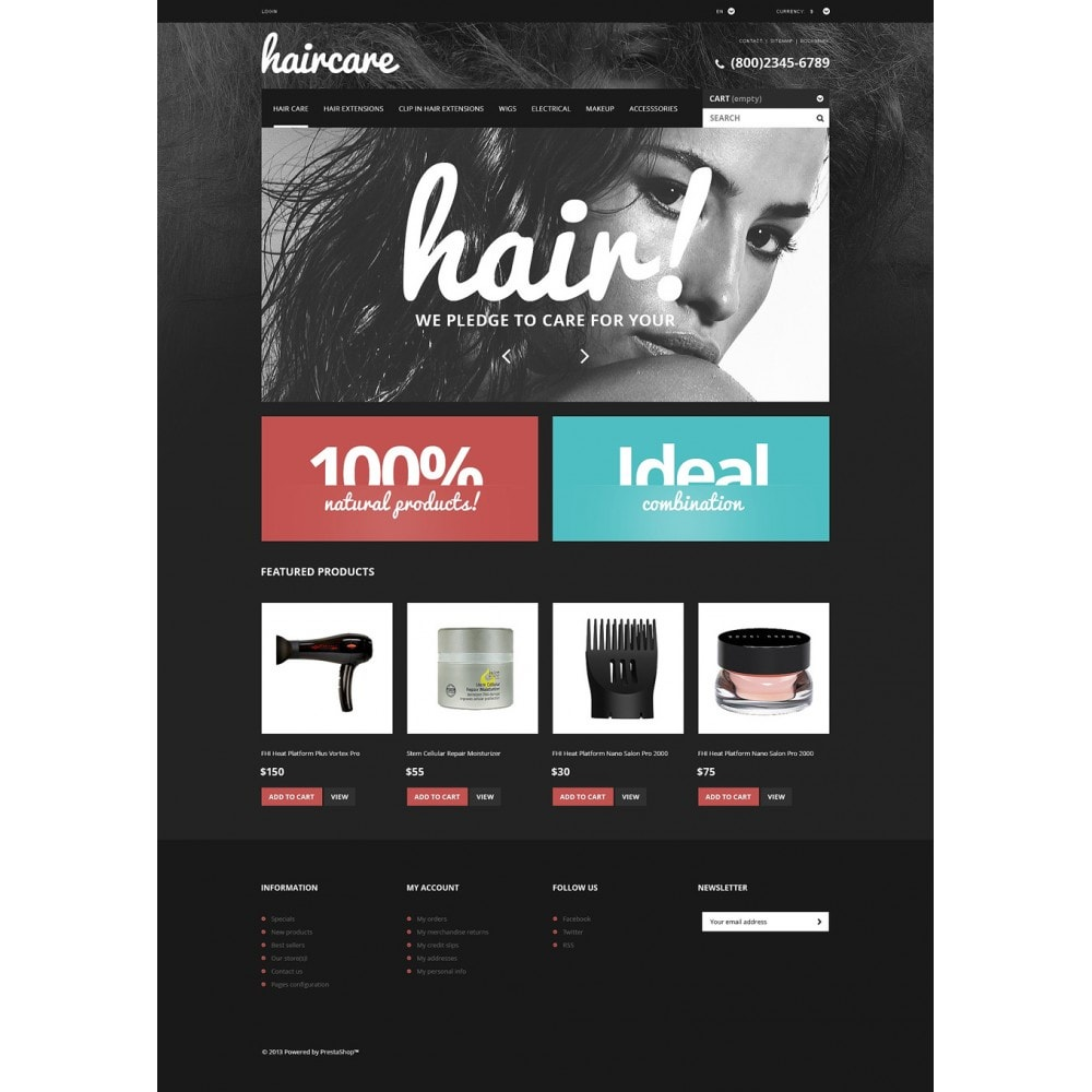 theme - Mode & Schuhe - Hair Care Products Store - 2