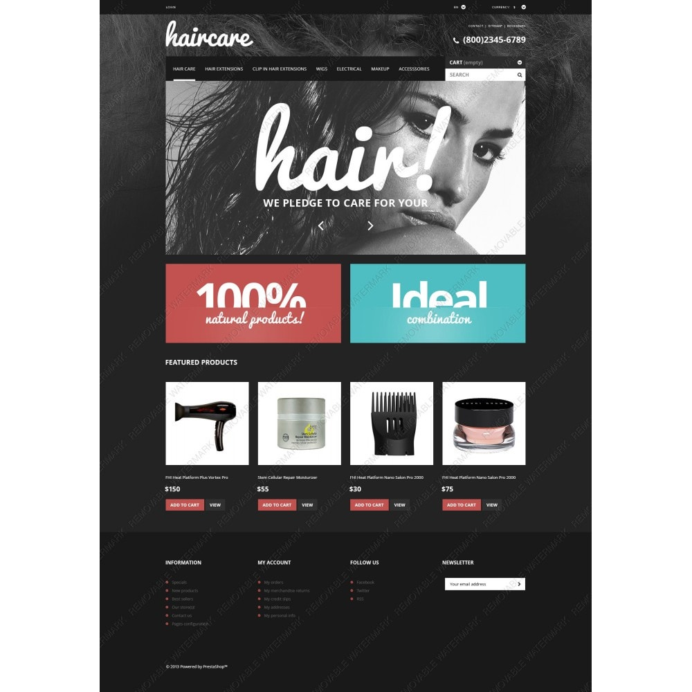 theme - Mode & Schuhe - Hair Care Products Store - 3
