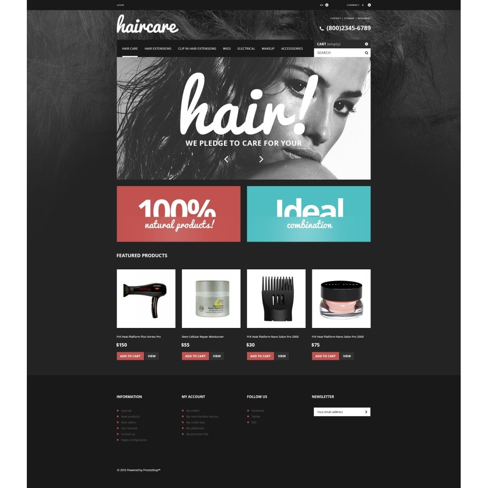 theme - Mode & Schuhe - Hair Care Products Store - 4