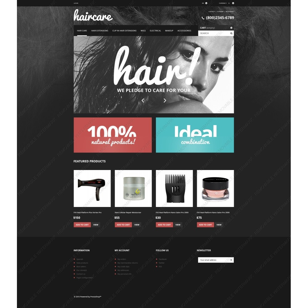 theme - Mode & Schuhe - Hair Care Products Store - 5