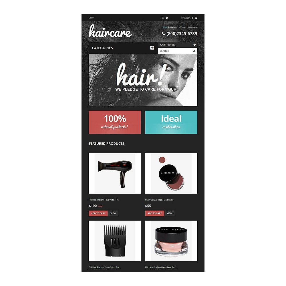 theme - Mode & Schuhe - Hair Care Products Store - 7