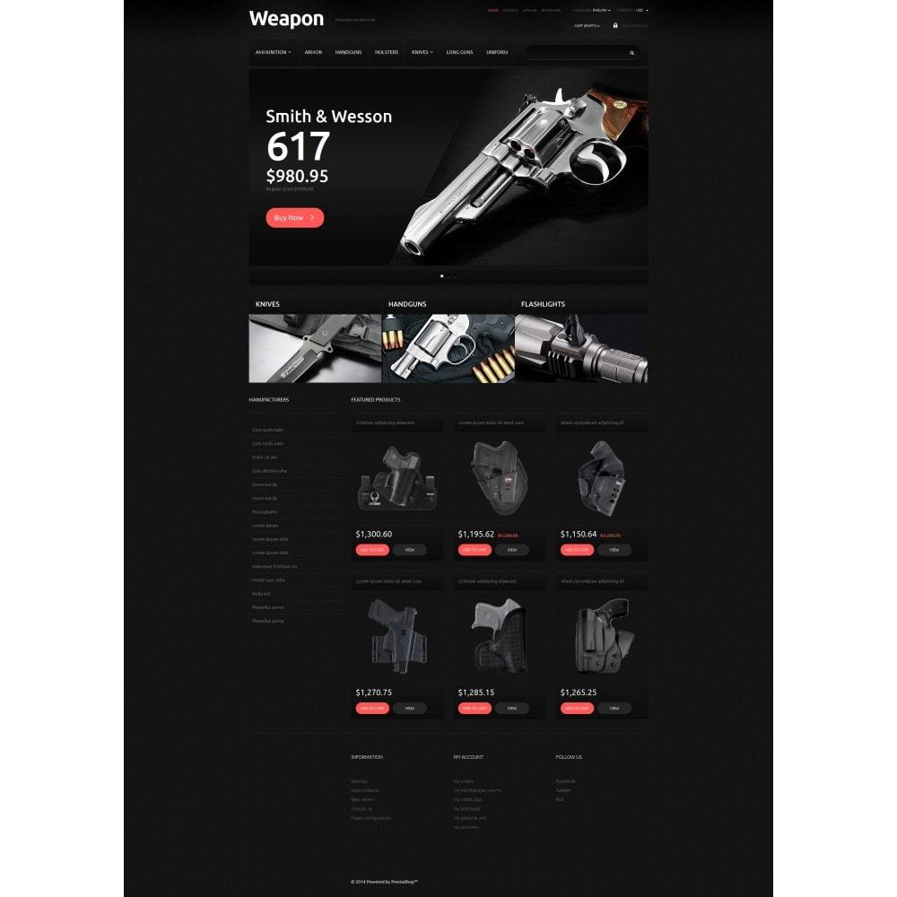 theme - PrestaShop Szablony - Weapons for SelfDefense - 5