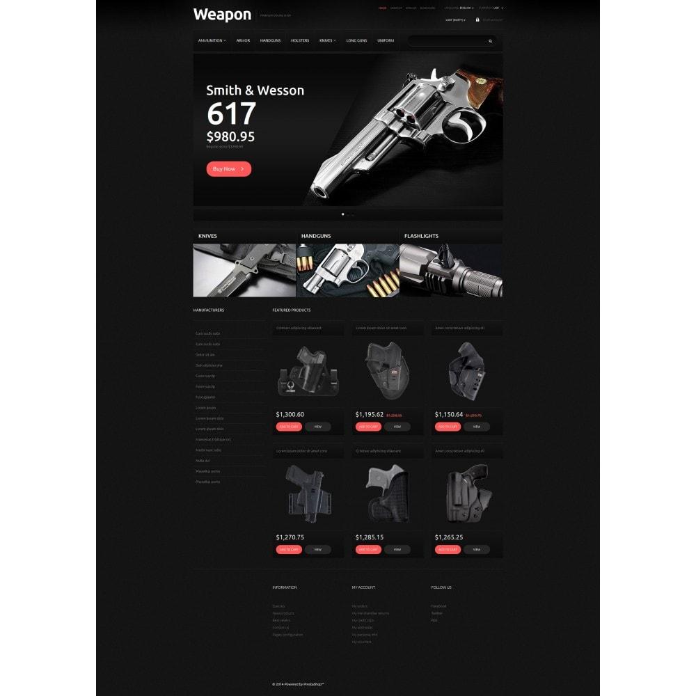 theme - PrestaShop Szablony - Weapons for SelfDefense - 6