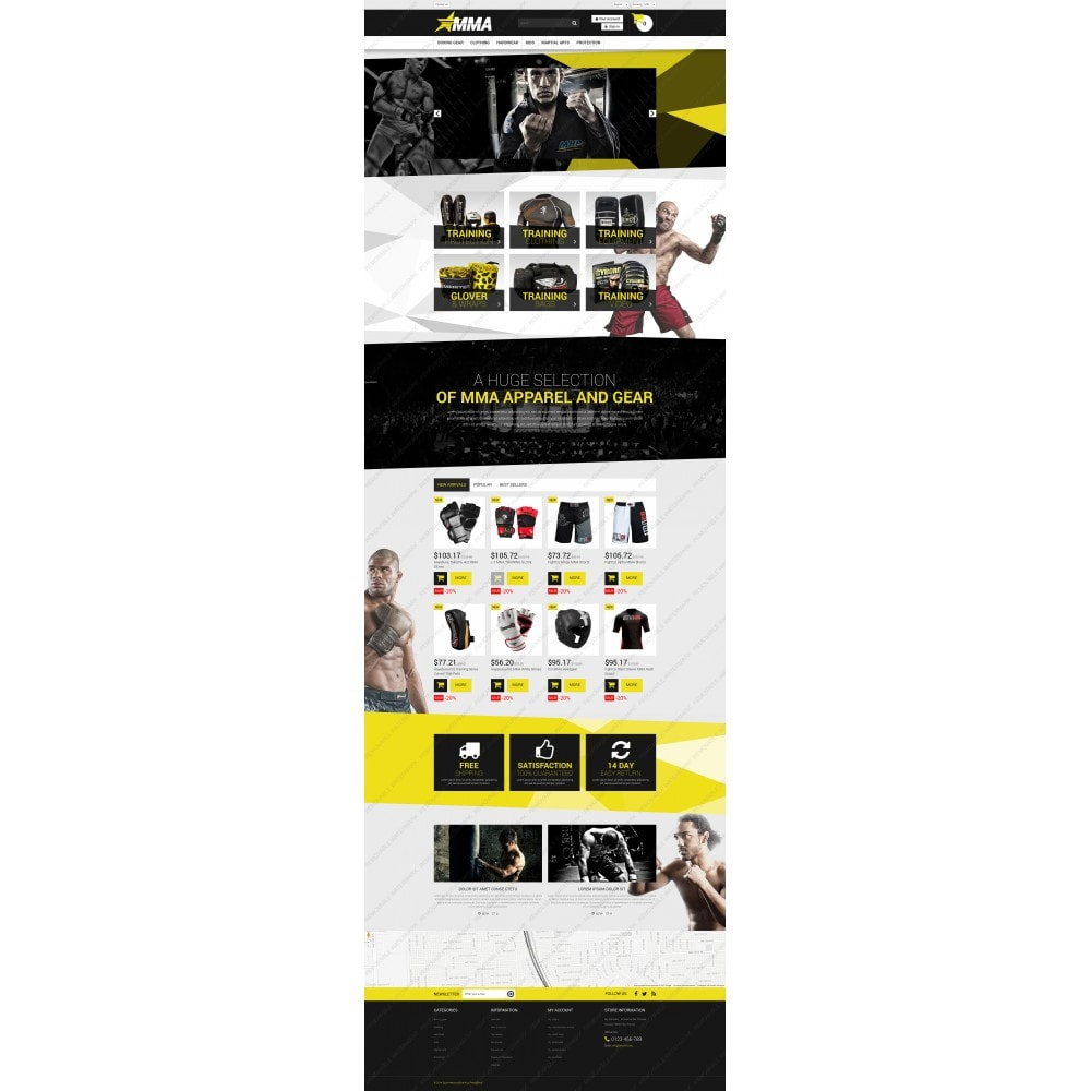 theme - Sports, Activities & Travel - MMA Store - 5