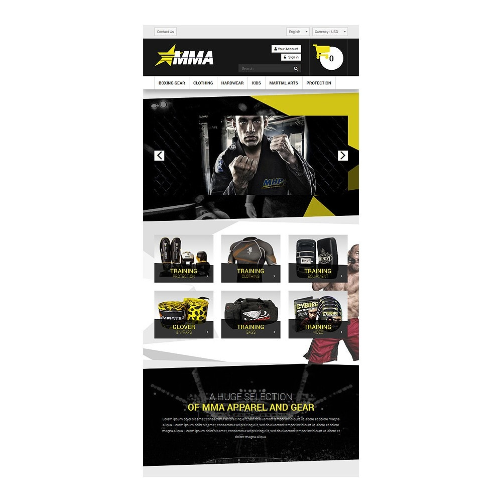 theme - Sports, Activities & Travel - MMA Store - 7