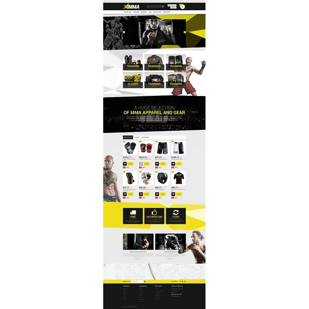 theme - Sports, Activities & Travel - MMA Store - 10