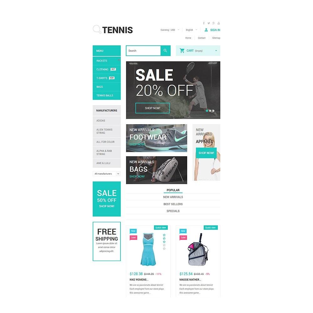 theme - Sport, Attività & Viaggi - Tennis Accessories Store - 7