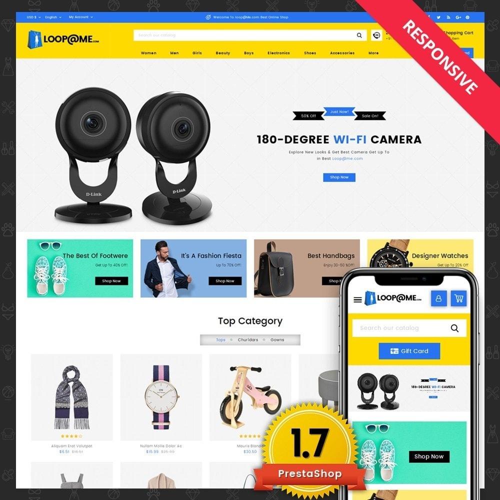theme - Электроника и компьютеры - Loopme Mega Store - 1