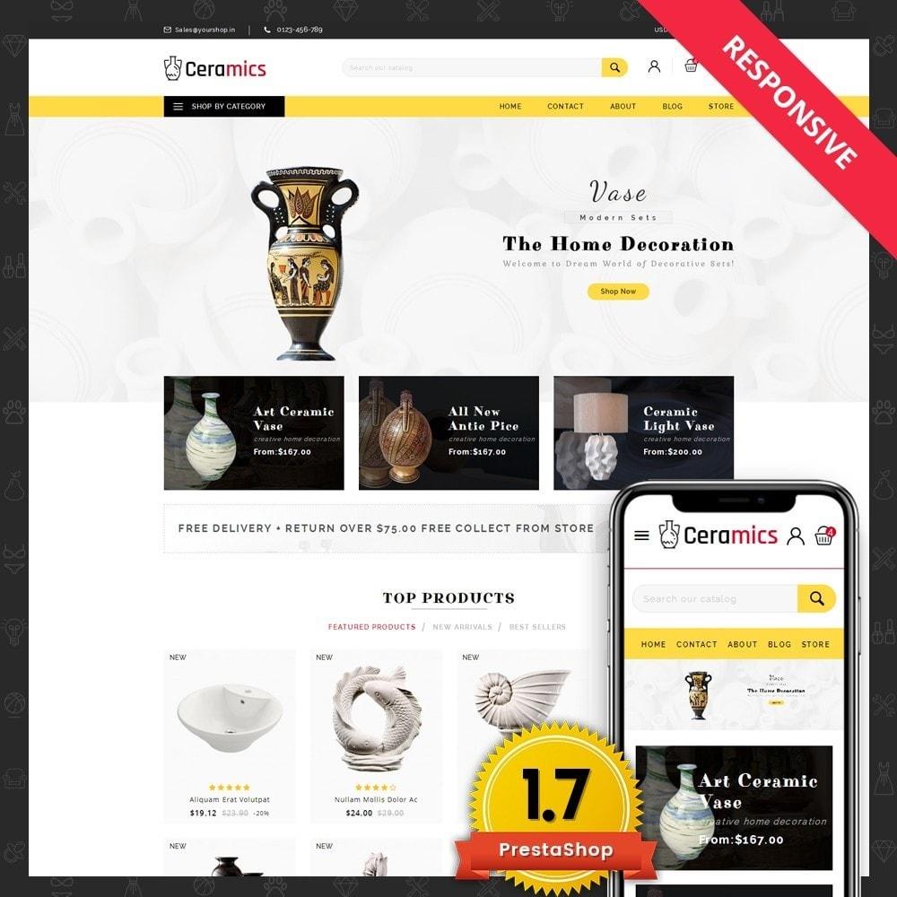 theme - Art & Culture - Ceramic Art Store - 1