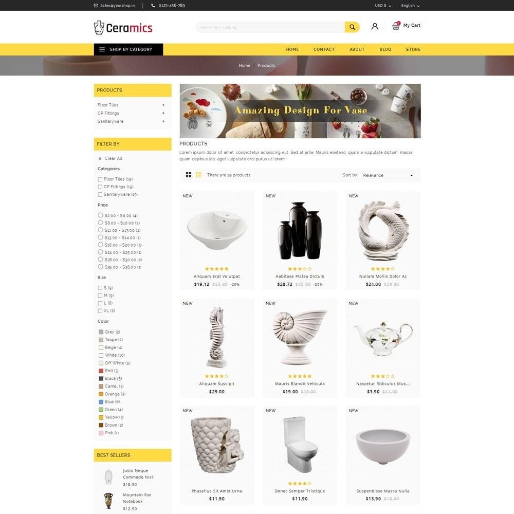 theme - Arte & Cultura - Ceramic Art Store - 3