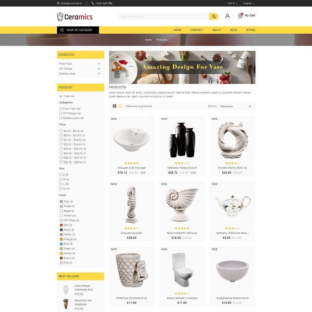 theme - Art & Culture - Ceramic Art Store - 3