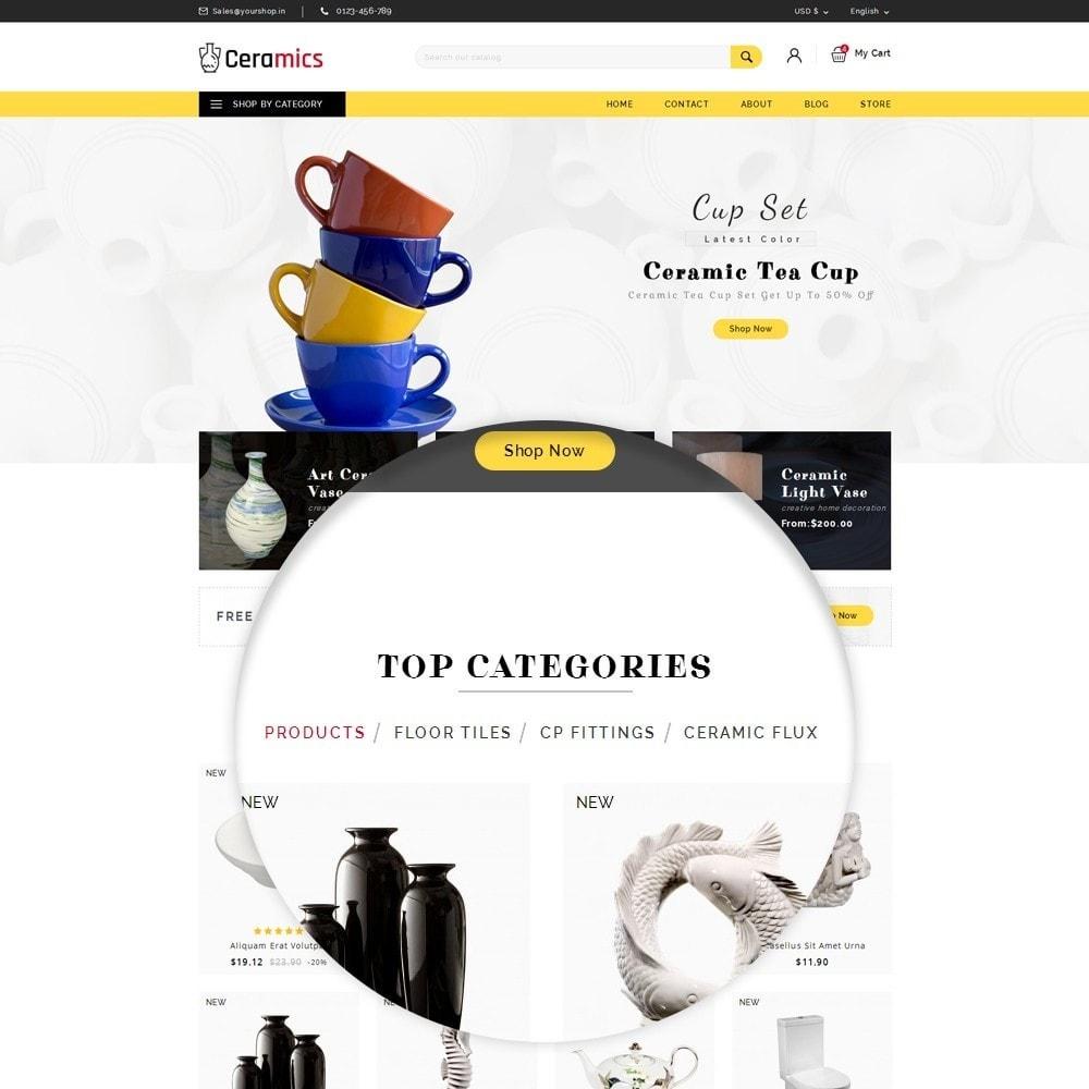 theme - Arte & Cultura - Ceramic Art Store - 8