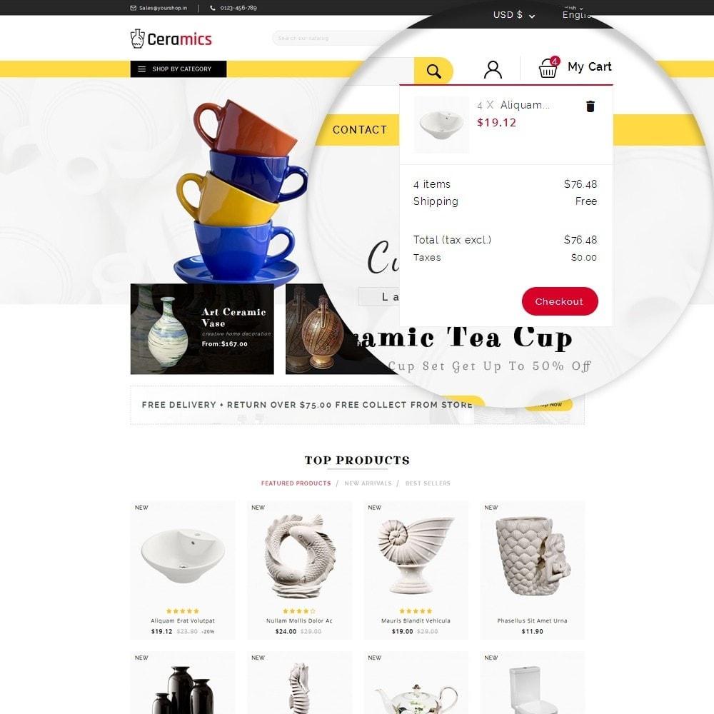 theme - Arte & Cultura - Ceramic Art Store - 10