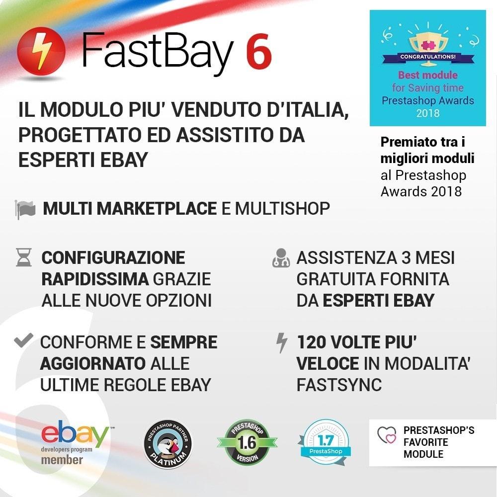module - Marketplace - Fastbay - sincronizzazione con eBay Marketplace - 1