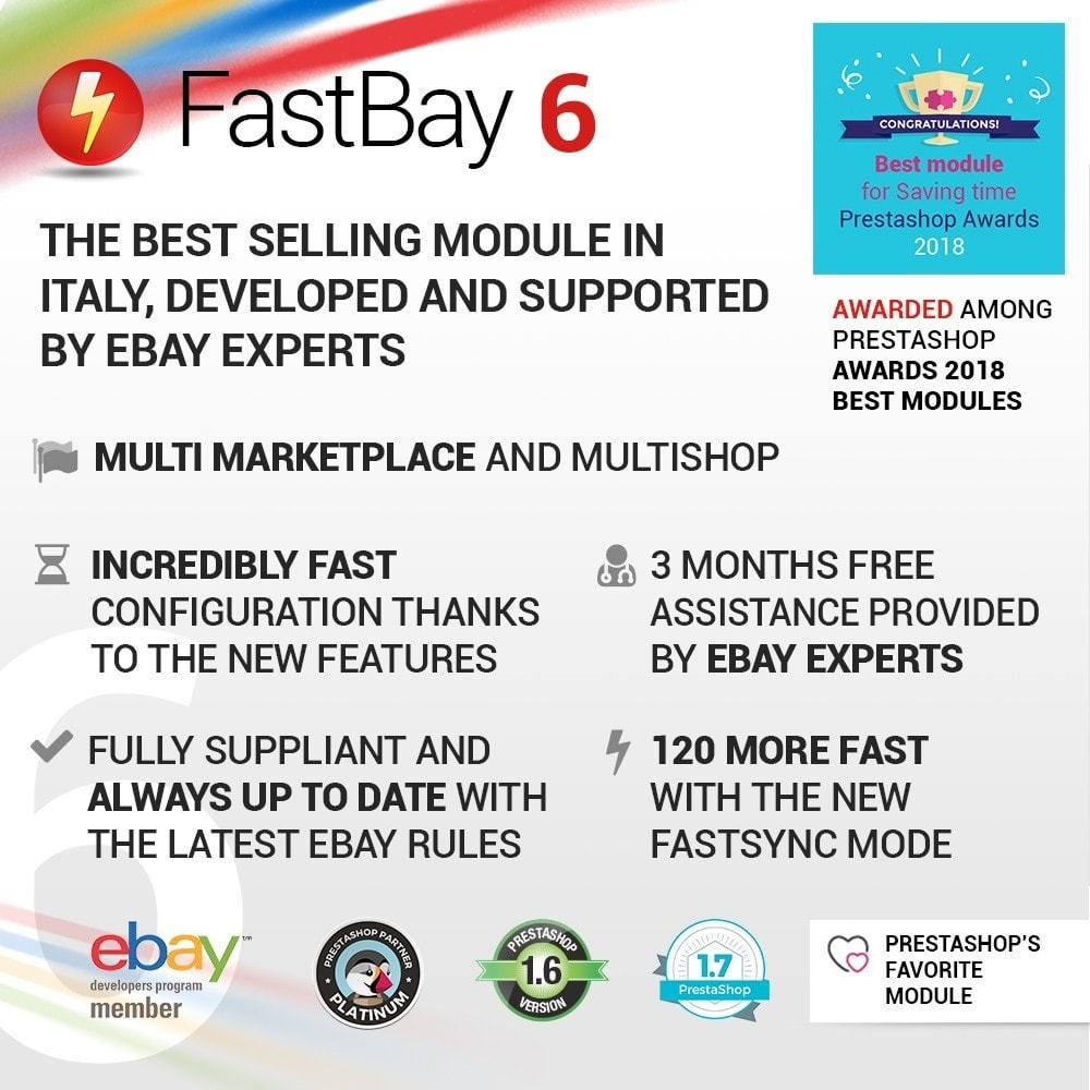 module - Marketplaces - FastBay - eBay Marketplace synchronization - 1