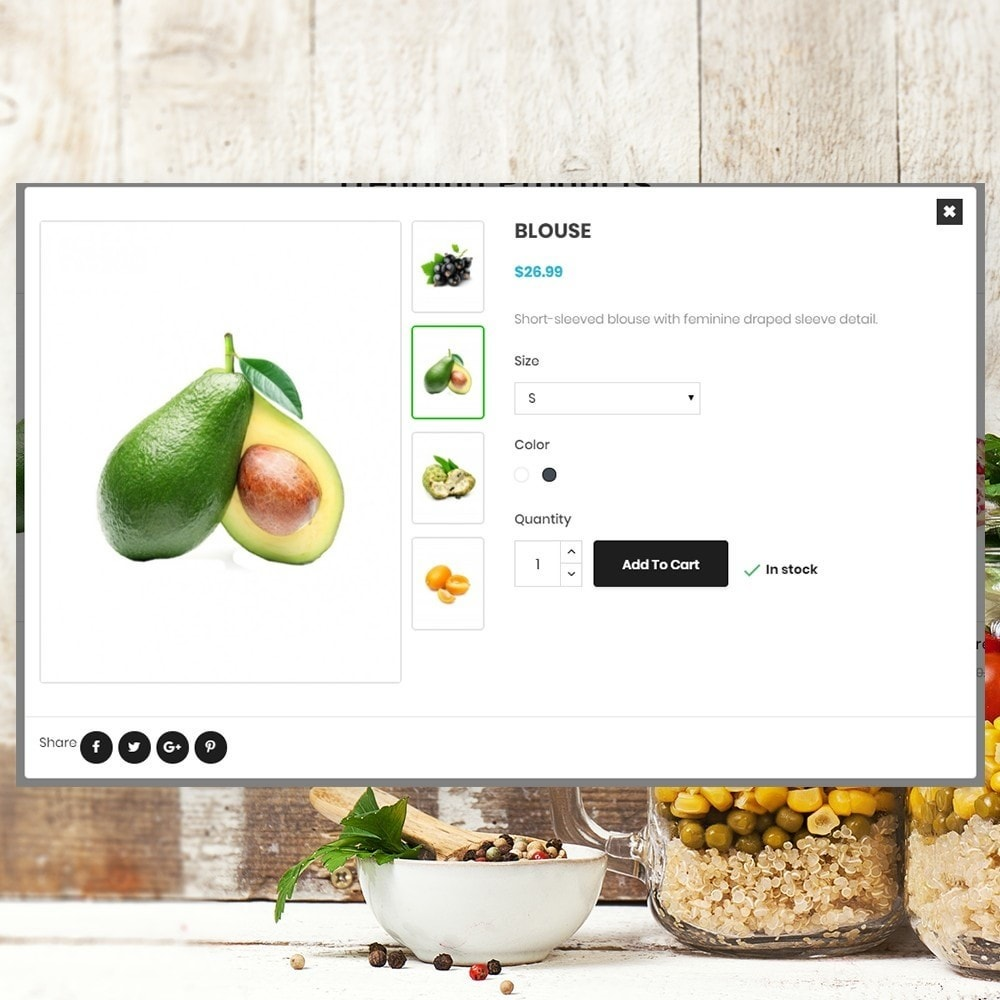 theme - Food & Restaurant - Organic vegetable store - 6