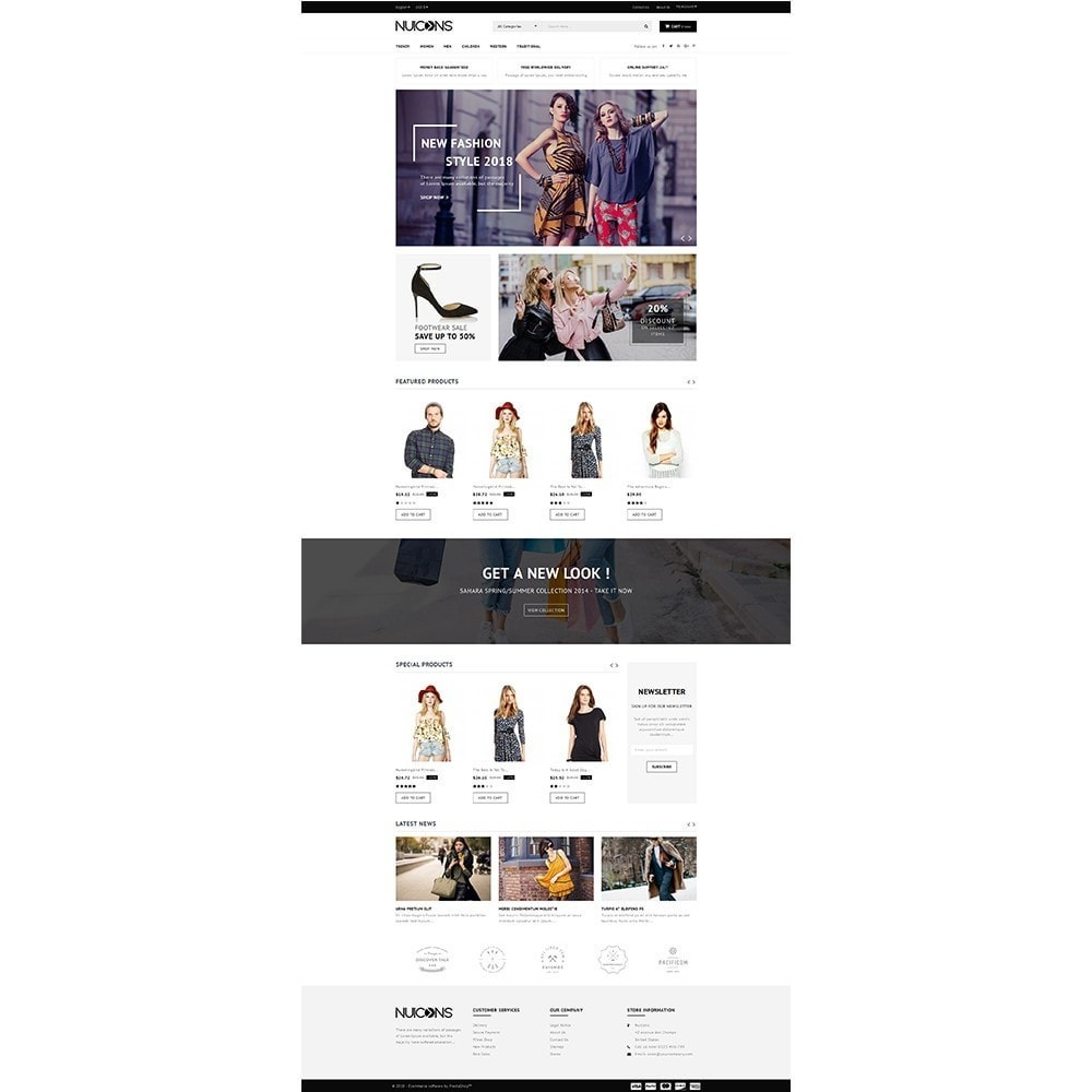 theme - Mode & Schoenen - Nuicons Fashion Store - 2