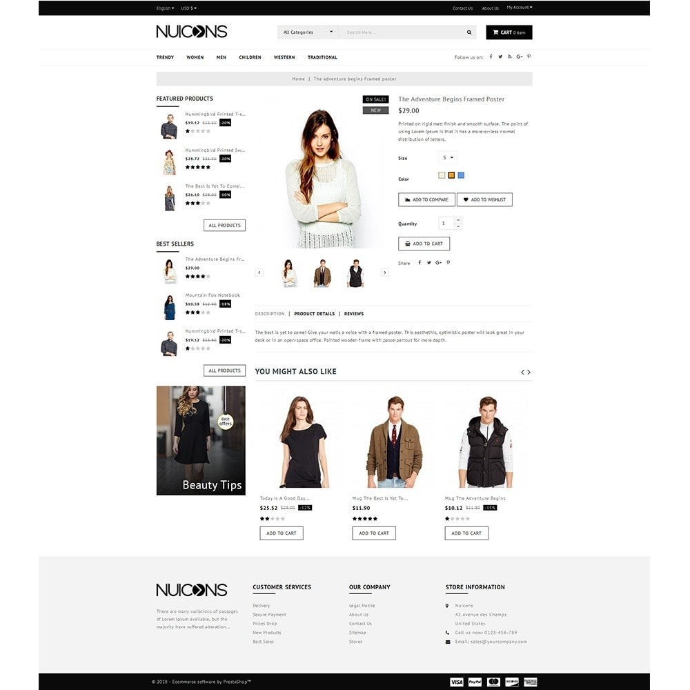theme - Mode & Schoenen - Nuicons Fashion Store - 5