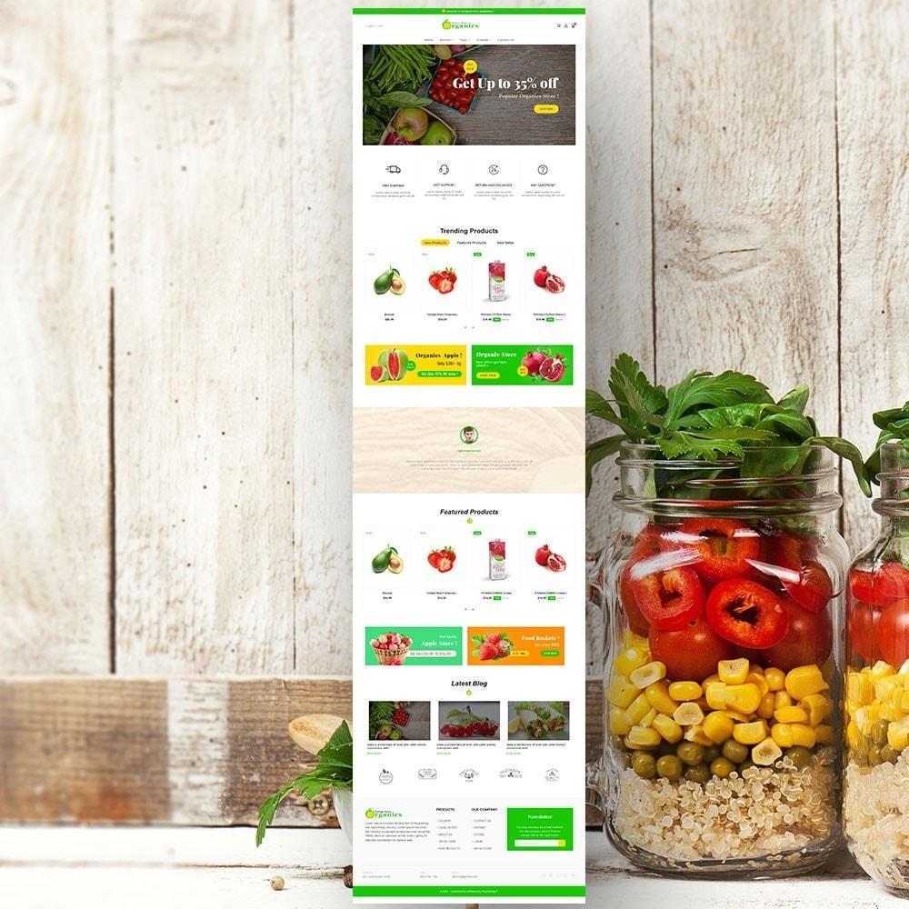theme - Alimentos & Restaurantes - Organic vegetable store - 3