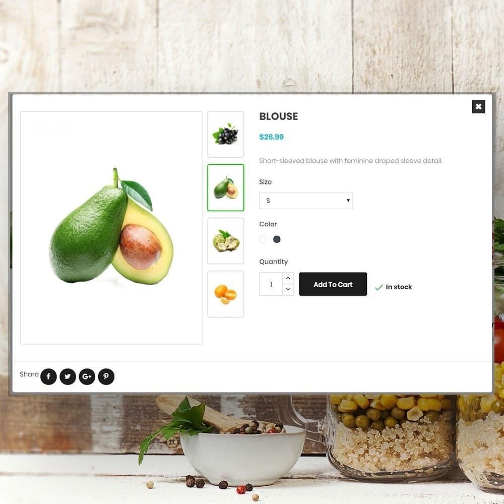theme - Продовольствие и рестораны - Organic vegetable store - 7