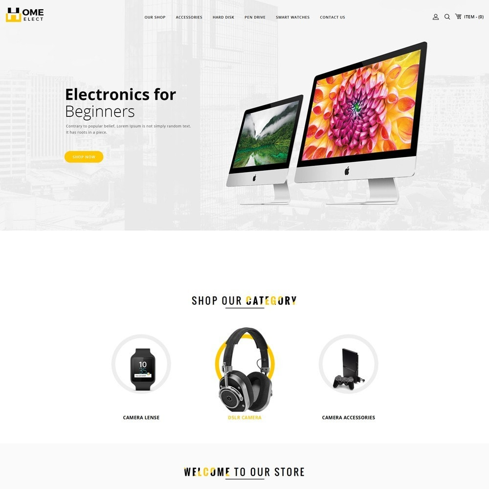 theme - Elektronika & High Tech - Homeelect - The Electronic Shop - 2