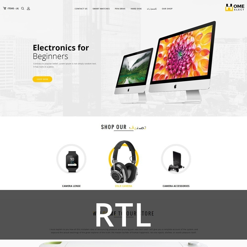 theme - Elektronika & High Tech - Homeelect - The Electronic Shop - 3