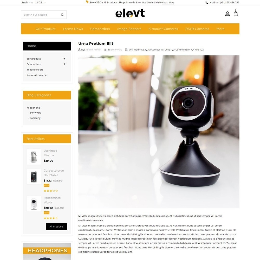 theme - Electronics & Computers - Elevt - The Electronic Store - 7