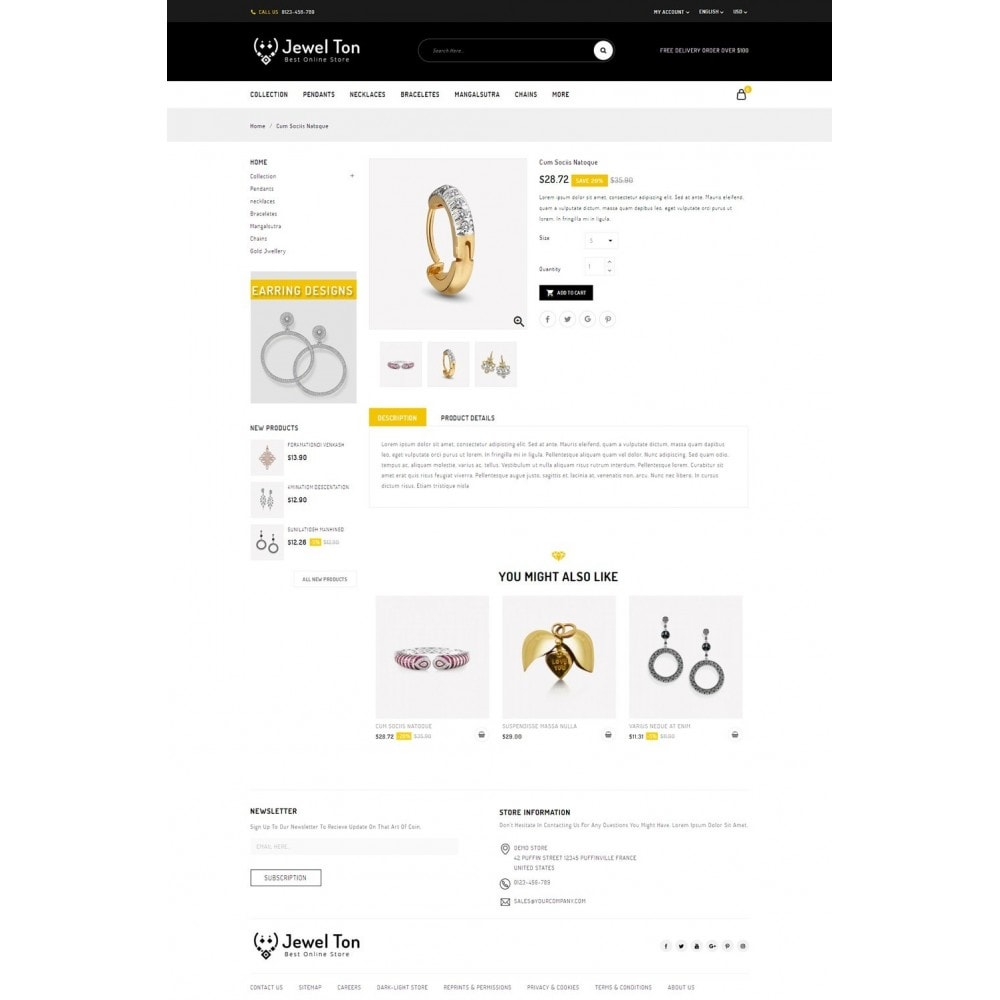 theme - Bijoux & Accessoires - Jewel Ton - Jewelry Online Store - 4