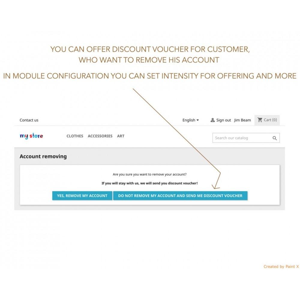 module - Администрация - GDPR Удаление записи пользователя с поздными параметр. - 4