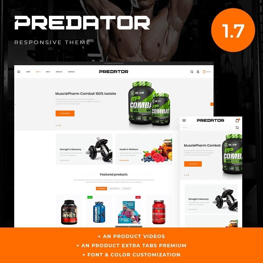theme - Desporto, Actividades & Viagens - Predator Shop - 1