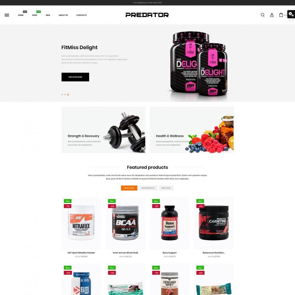 theme - Sport, Attività & Viaggi - Predator Shop - 2