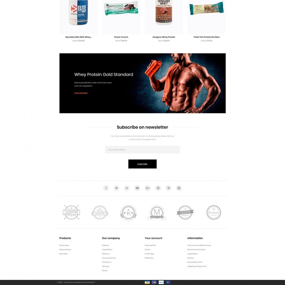 theme - Desporto, Actividades & Viagens - Predator Shop - 4