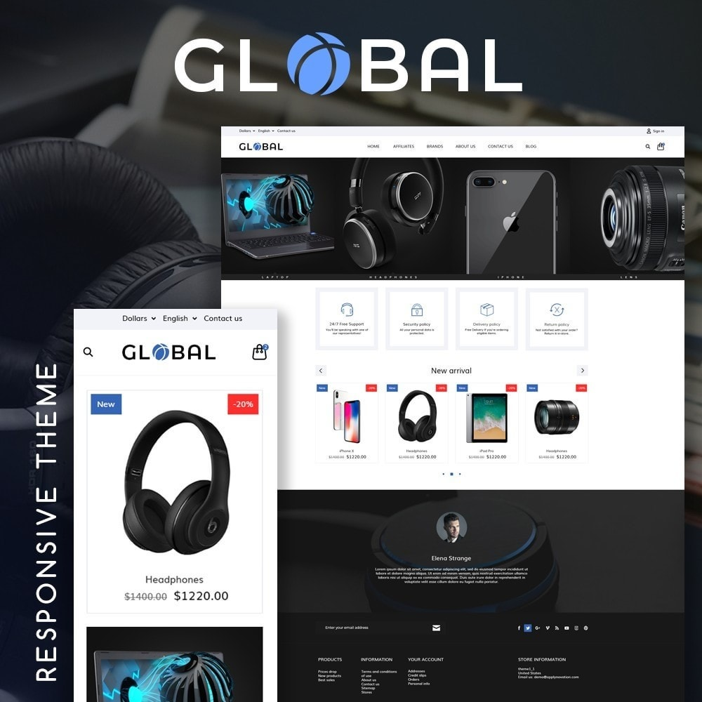 theme - Elektronik & High Tech - Global - High-tech Shop - 1